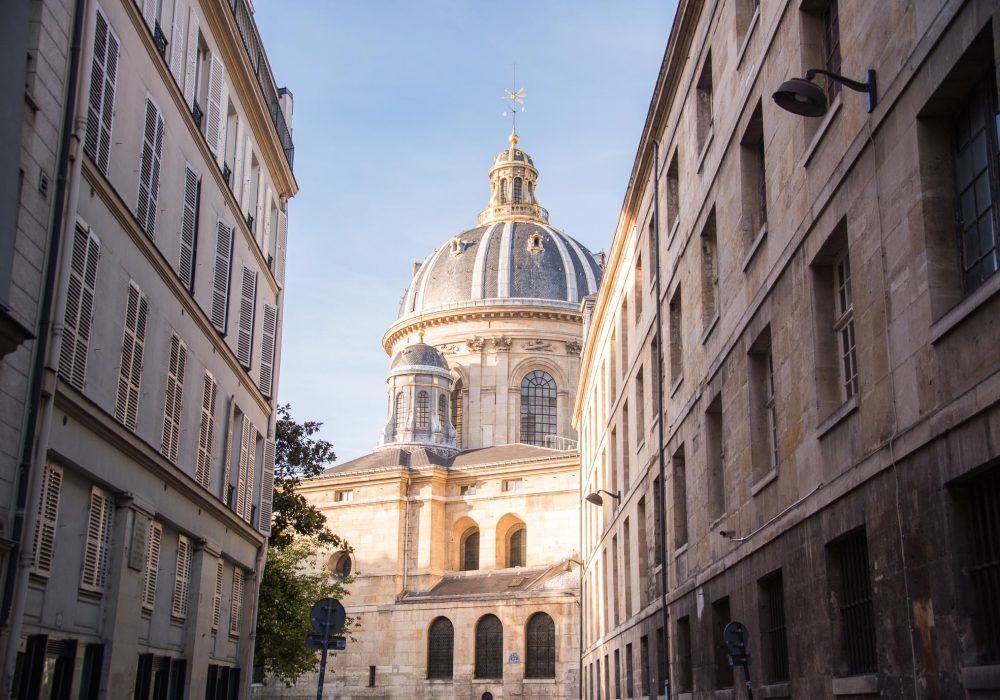 Institut de France, Paris, France: A Signature Escape by Bare Escape