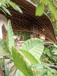 The Moon House at Bambu Indah