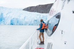 The Grey Glacier, EcoCamp Patagonia, Torres El Paine National Park, Patagonia, Chile, South America   Bare Escape