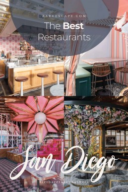 14 Best Restaurants And Most Instagrammable Cafes San Diego | Bare Escape