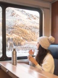The Best Winter Train Ride In Alaska | Bare Escape