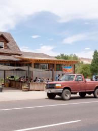 Escalante Outfitters outdoor restaurant | Bare Escape