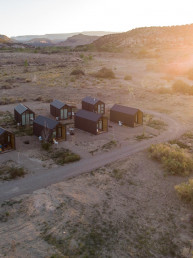 Stunning views from the cabins at Yonder Escalante | Bare Escape