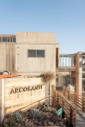 The entrance to the Arcosanti visitors center and more | Bare Escape