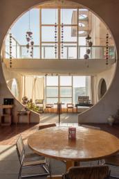 The interior of Arcosanti Cafe | Bare Escape