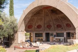 The ceramic studio at Arcosanti | Bare Escape