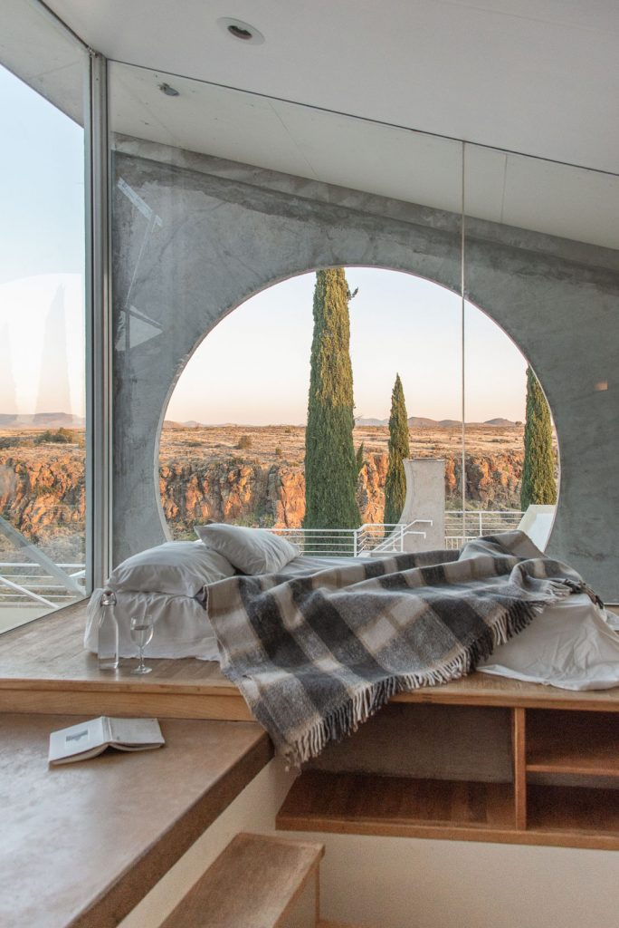 Views from the Sky View Suit at Arcosanti | Bare Escape